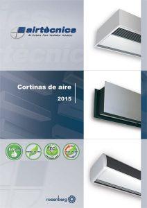 Cortinas de aire. Catálogo General 2015