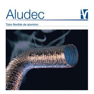 Aludec: Tubo flexible de aluminio.