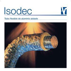 Isodec: Tubo flexible de aluminio aislado.
